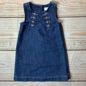 Next denim jumper size 5-6 year